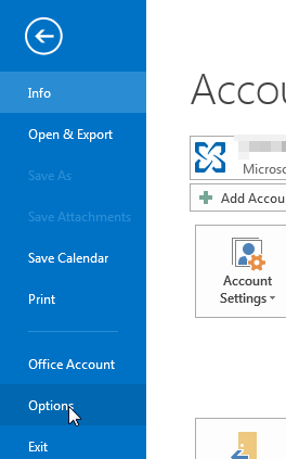 how to change primary calendar in outlook
