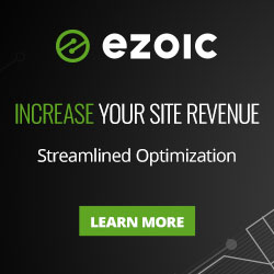 Increase ad revenue 50-250% with Ezoic. A Google Certified Publishing Partner.