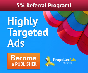 PropellerAds native ads affiliate program