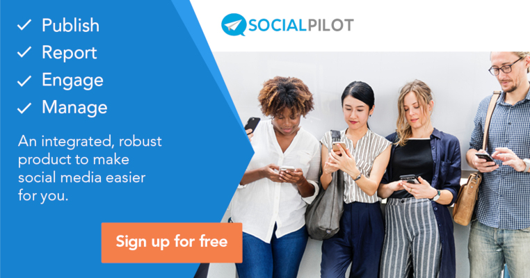 SocialPilot social media management