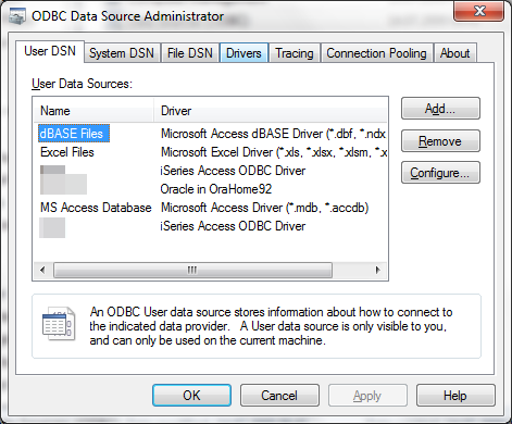 MS Access Oracle ODBC driver