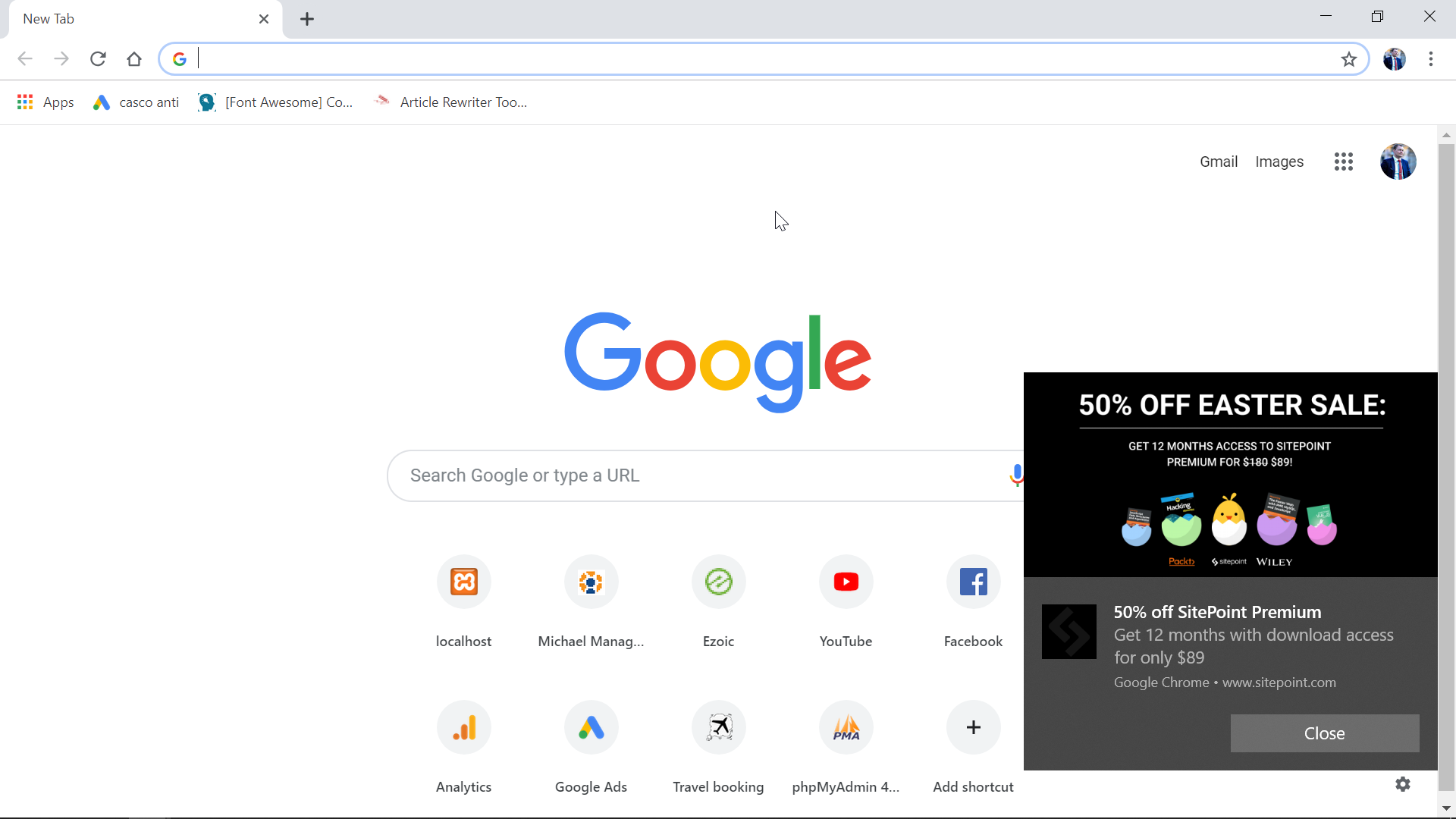 How to turn off Chrome notifications on Windows10? - [International