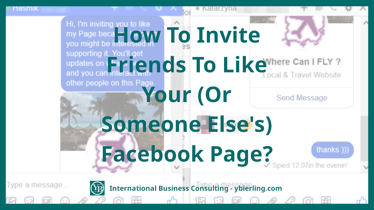 How To Invite To Like A Facebook Page