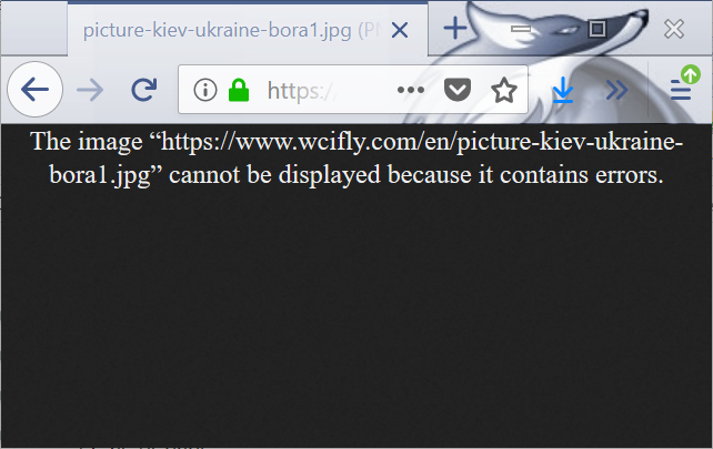 PHP GD generated image The image cannot be displayed because it contains errors in Firefox : Error The image cannot be displayed because in contains errors on Firefox