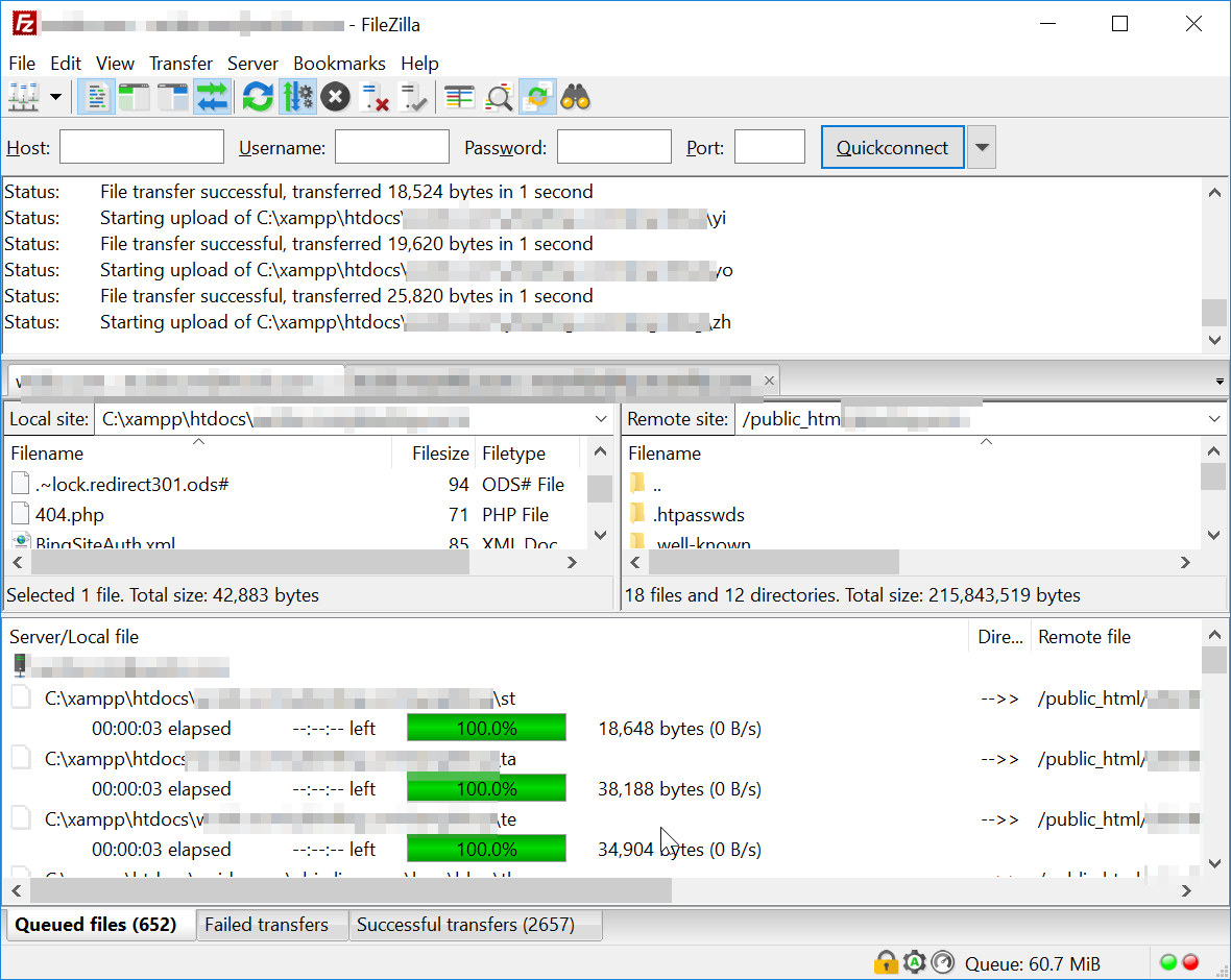 FileZilla client increase multiple connections : How to increase FTP upload speed FileZilla