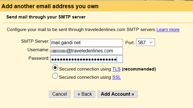Setup Gmail with GoDaddy domain or another own domain