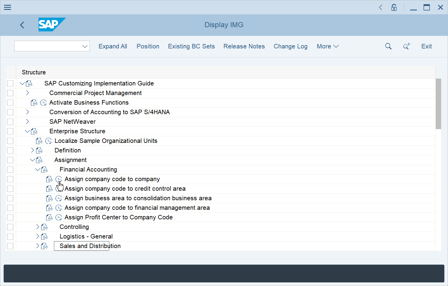 Assign company code to company in SAP FICO