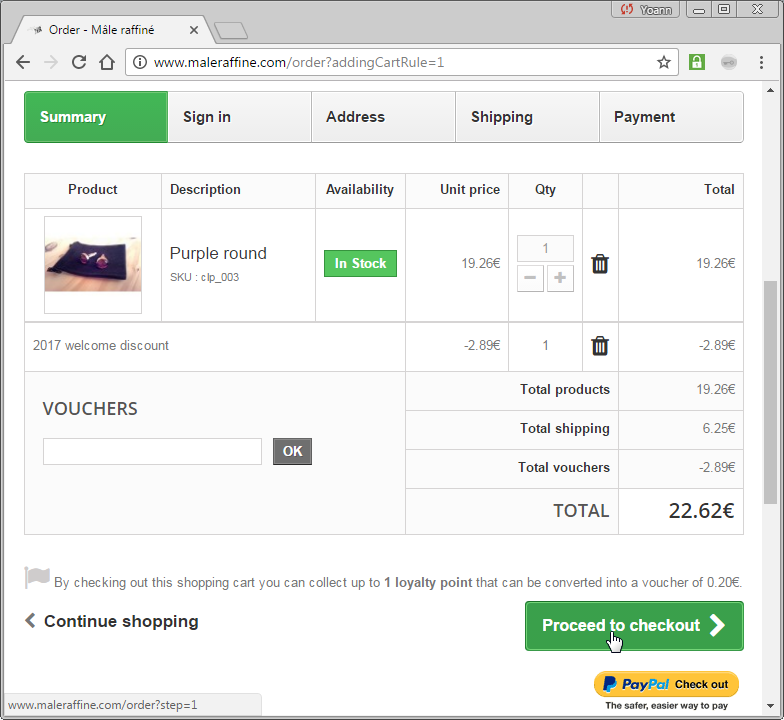 Prestashop how to create discount and voucher codes (percentage, fixed amount, ...)