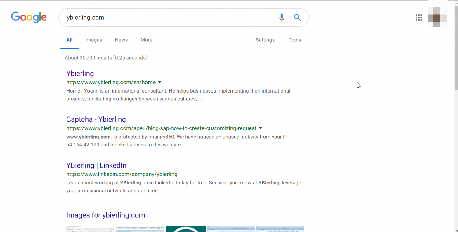 How to change language in Google?
