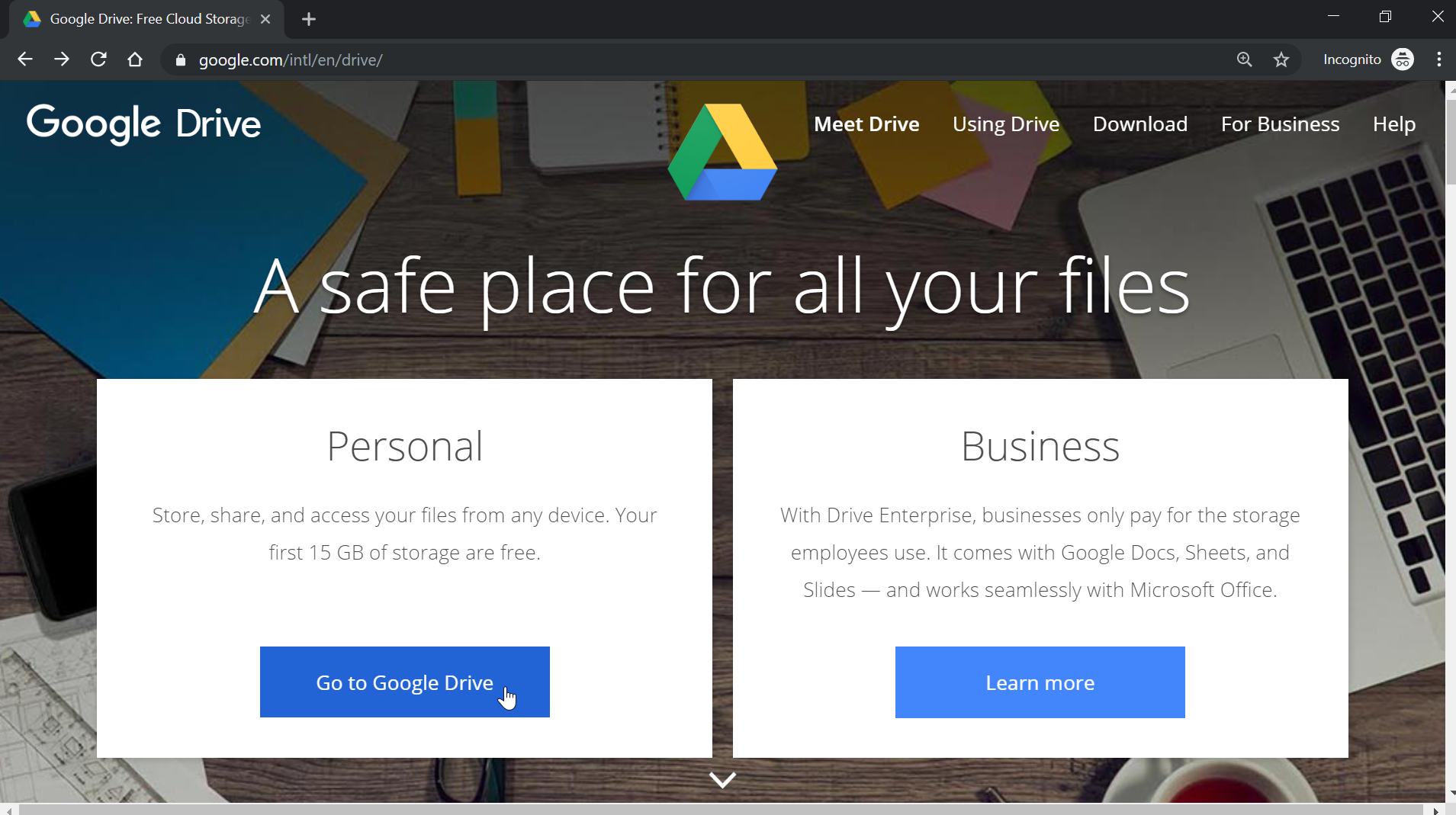 How to create a Google Drive account and get 15GB Google Drive free storage ?