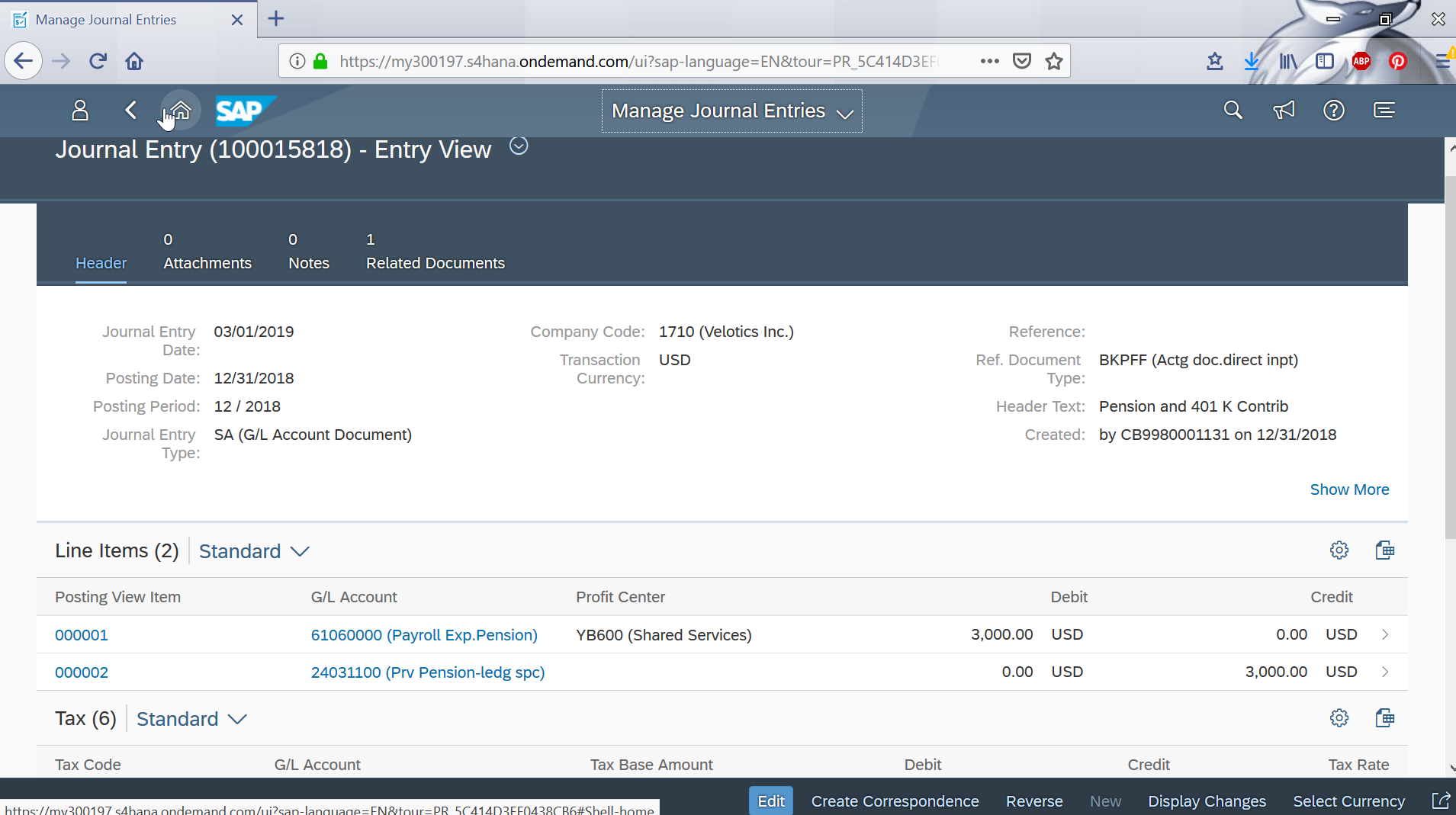 How to manage recurring journal entries in FIORI apps?